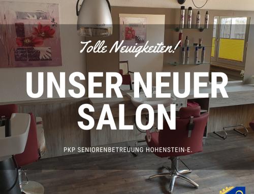 Unser neuer Salon in der PKP Hohenstein-E.