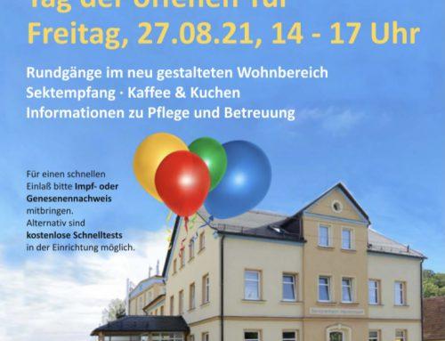 Einladung zum Tag der offenen Tür in Heinrichsort